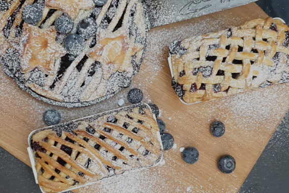 My blueberry pie obsession