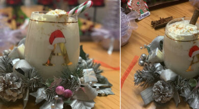 The FIFTH Day – Cups of Eggnog