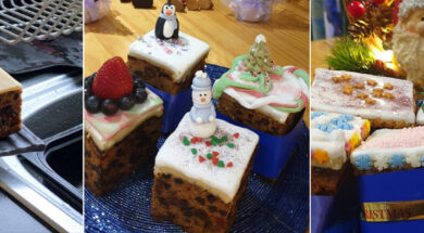 The Ninth Day – The Icing on the Cake… Decorated cakes